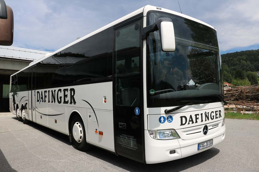 Linienbus der Dafinger GmbH fuer die Website dafinger-bus.de