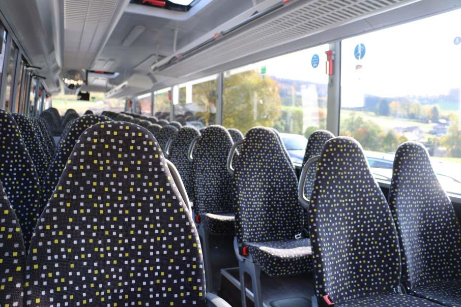 Interieur Linienbus Dafinger Website Dafinger Bus